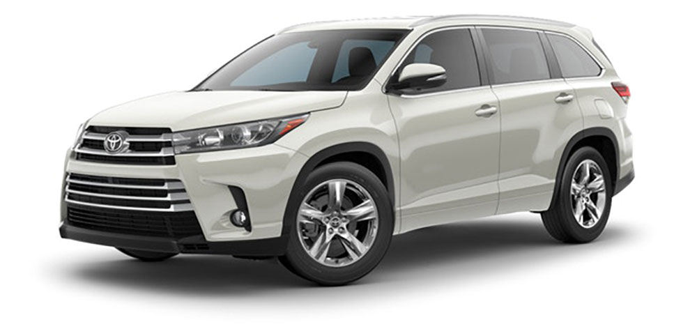 2019 Toyota Highlander Le Ocean Auto Lease